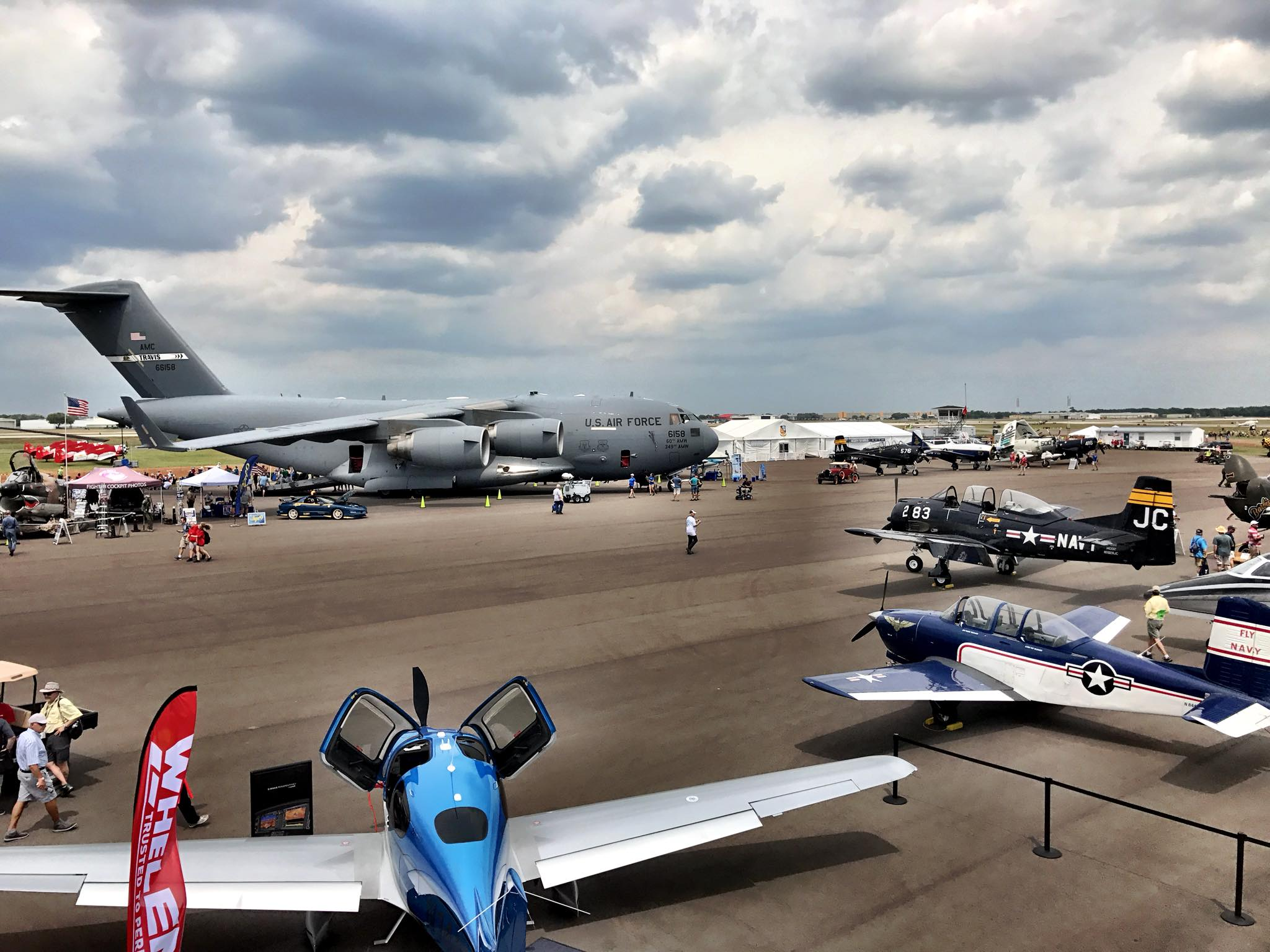 Az Egyesült Államok egyik legnagyobb évenkénti repülőtalálkozója