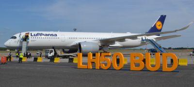 Repülés Lufthansa A350-essel: rövid út, rengeteg élmény!