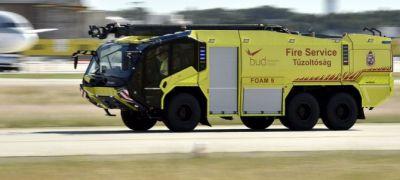 A reptéri tűzoltók új Párduca