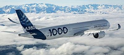 A350-1000 típusalkalmassági, egy év alatt