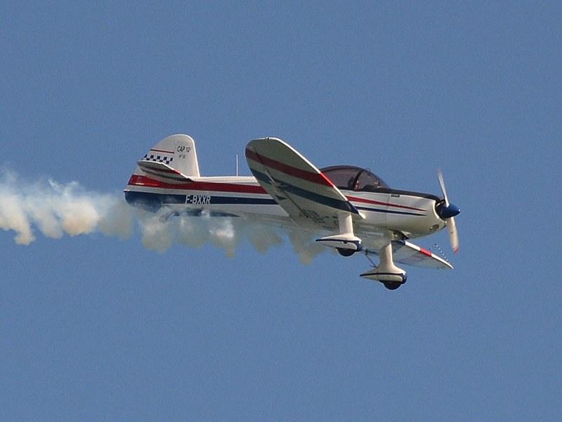 Már nem az első vonal, de szépen repül: CAP-bemutató
