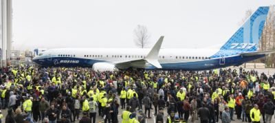 A MAX 10 kigördülése: újabb visszafogott Boeing-ünnep