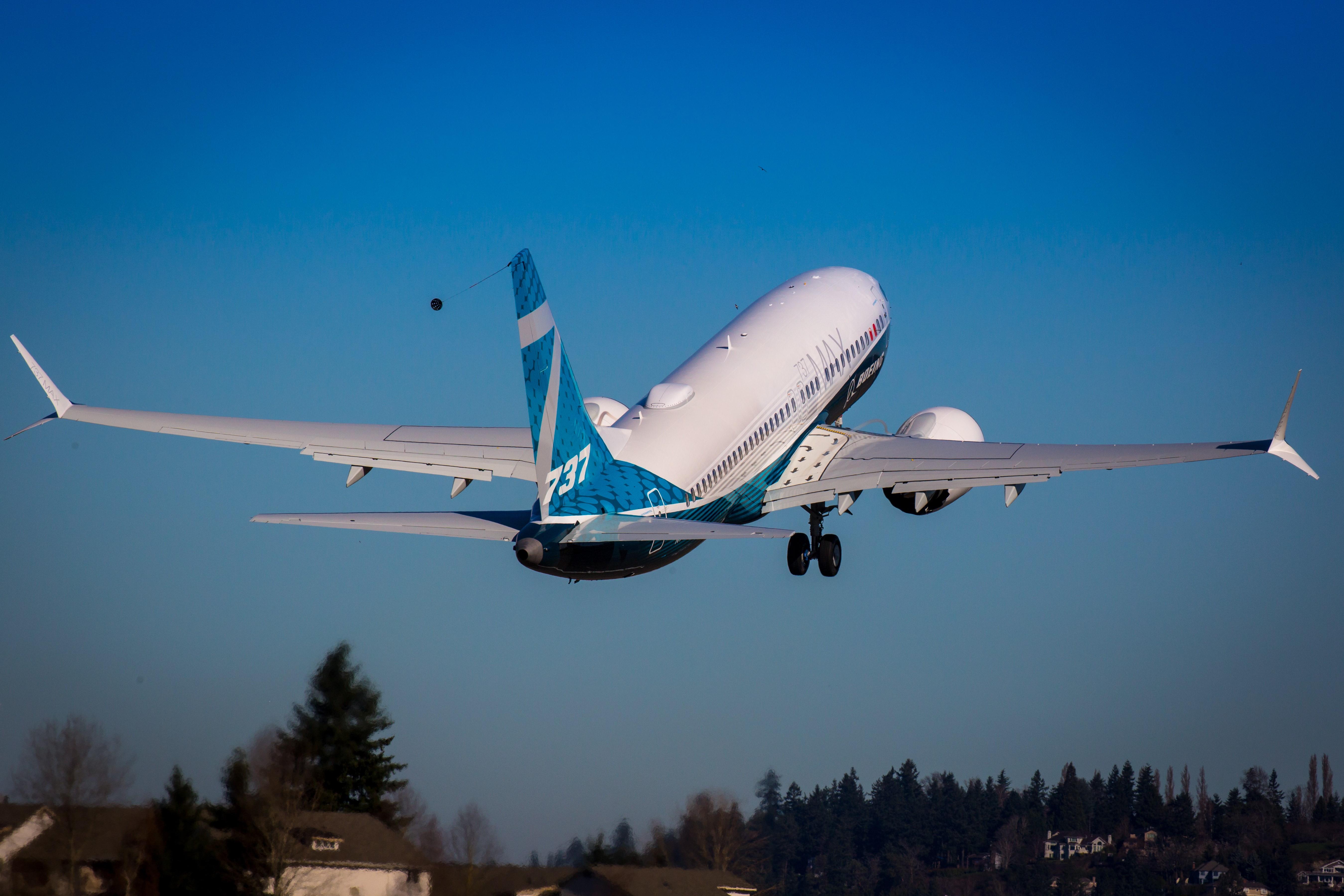 Ismét levegőben a 737MAX-ok: megkezdődött a tavaly márciusban leállított típus tesztrepülése már a frissített szoftverekkel (fotó: Boeing)