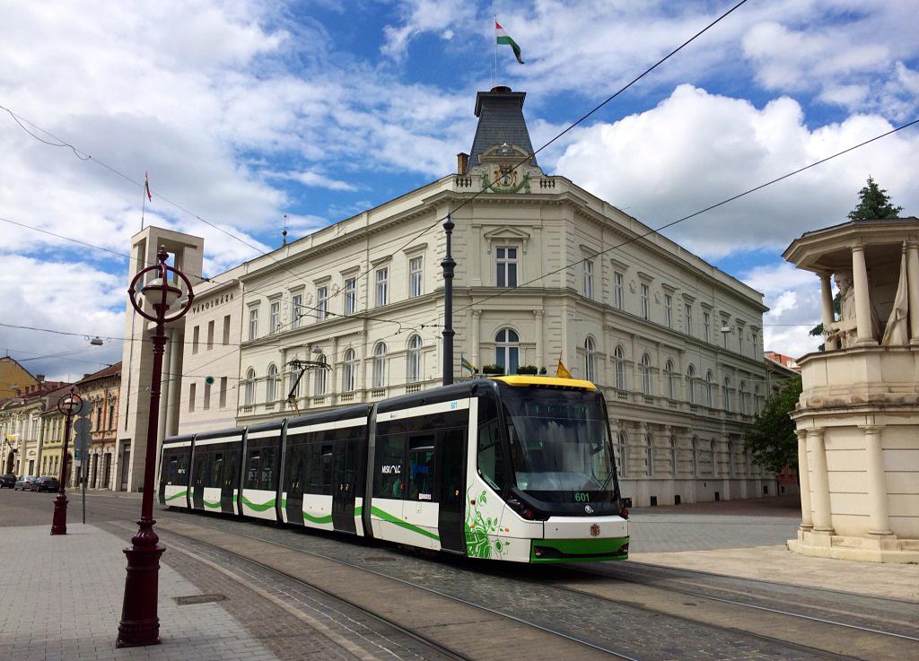 Miskolc néhány éve beszerzett új villamosait is a Skoda Transportation gyártotta (fotó: MVK Zrt.)