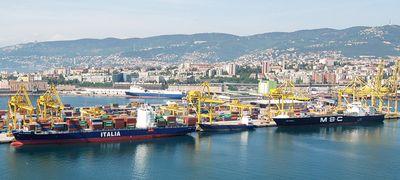 Nemzetközi szabadkikötővé vált a trieszti kikötő