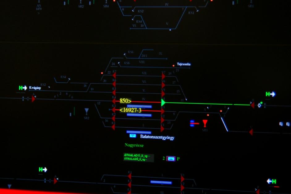 Így fest Balatonszentgyörgy a monitorfalon