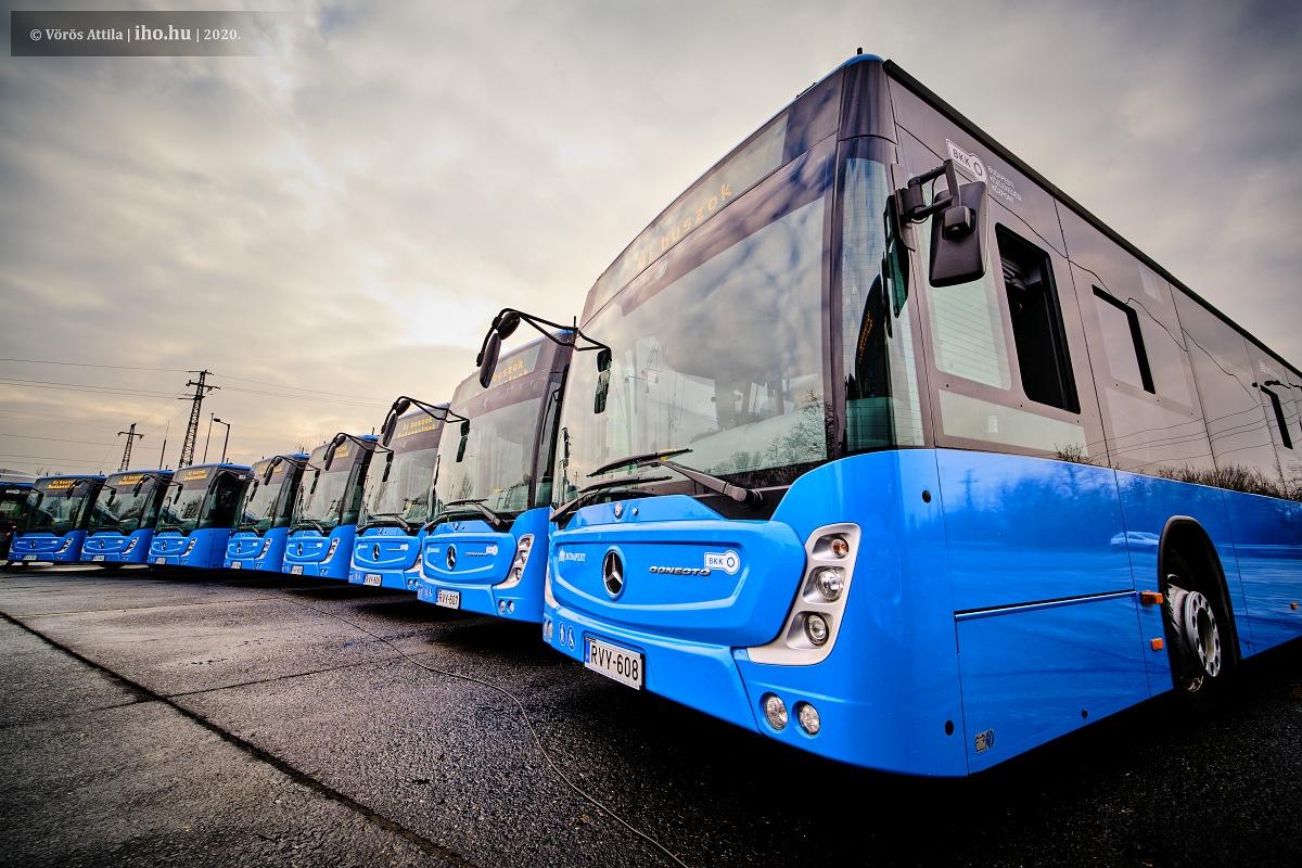 Ózonos tisztítást tesztel a BKV a buszokon a koronavírus terjedése ellen (illusztráció: Vörös Attila)