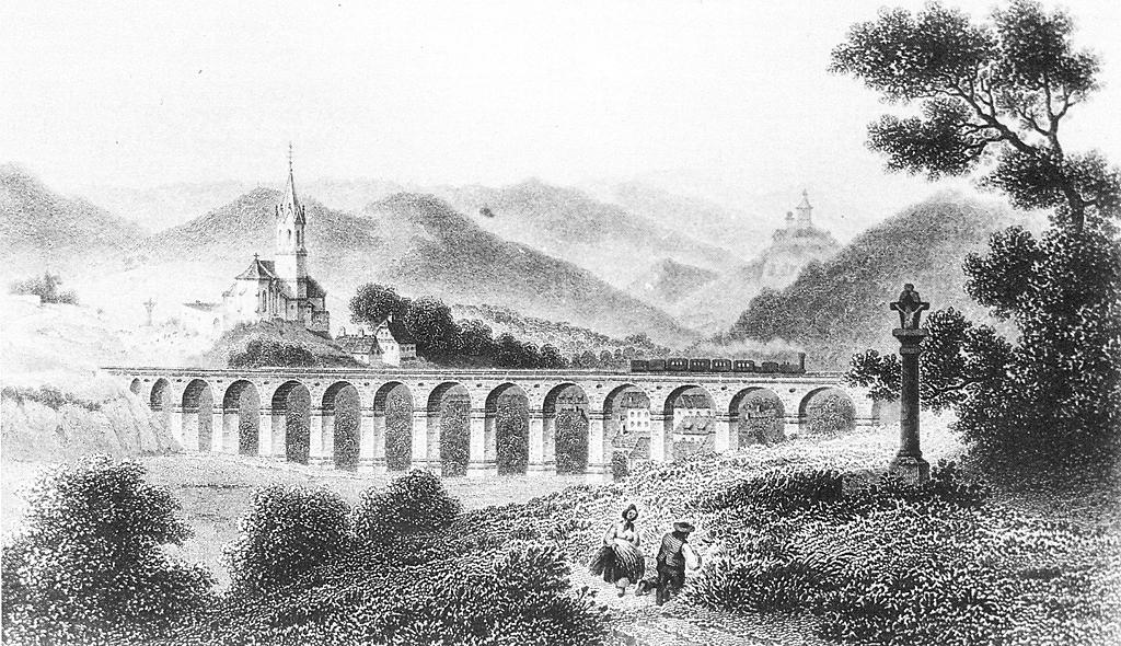 Az első magyar vasútvonal pest és vác között épült meg
