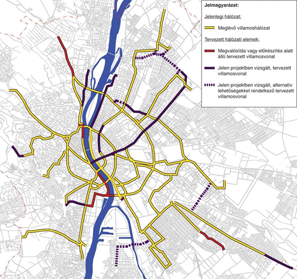 budapest 1 es villamos térkép IHO   Vasút   Mikor lesz hosszabb? budapest 1 es villamos térkép