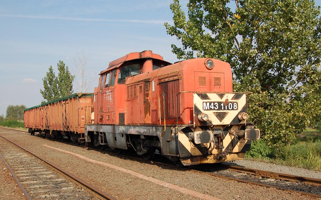 Az akkor még bátaszéki tartalék M43 1108-as jött ki a szekszárdi kocsikért 2006 őszén