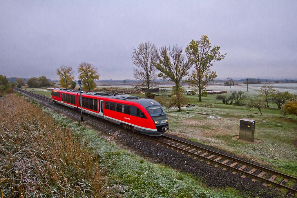 A vonal jelenleg legmagasabb komfortfokozatú vonatát a Sugovia és Gemenc Expresszek Desirói adják<br>(fotó: Vörös Attila)