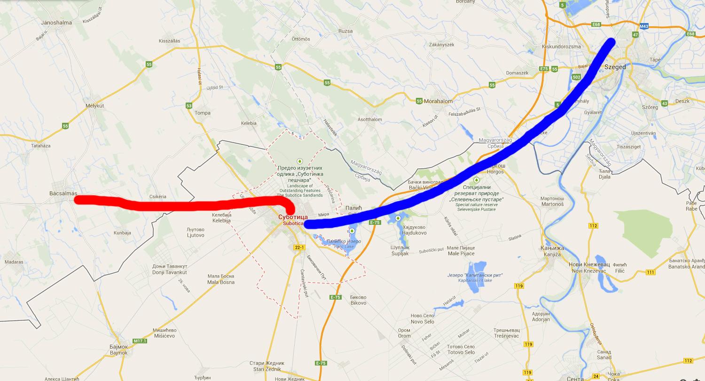 bácsalmás térkép IHO   Vasút   Lesz valami Csikériából? bácsalmás térkép