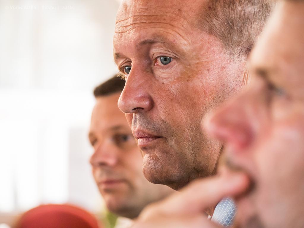 Heinczinger Tamás, a CER Hungary vezérigazgatója; Kukely Márton, a cégcsoport vezérigazgatója és Kiss János, a CER Slovakia vezérigazgatója beszélt a CER Cargo Holding teljesítményéről