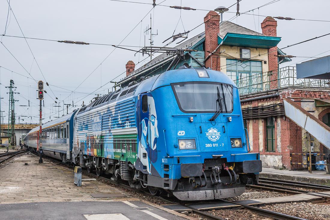 A csehek Messerei jól ismert gépek Magyarországon is, a prágai eurocityk állandó vontatógépeinek számítanak (fotó: Kalmár Gergő)