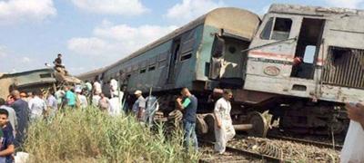 Vonatbaleset Egyiptomban