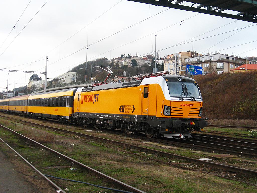 Csornán is meg fog állni a Regiojet Prága–Pozsony–Ljubljana–Rijeka járata