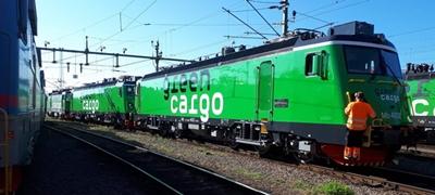 Átvette első két Transmontanáját a Green Cargo