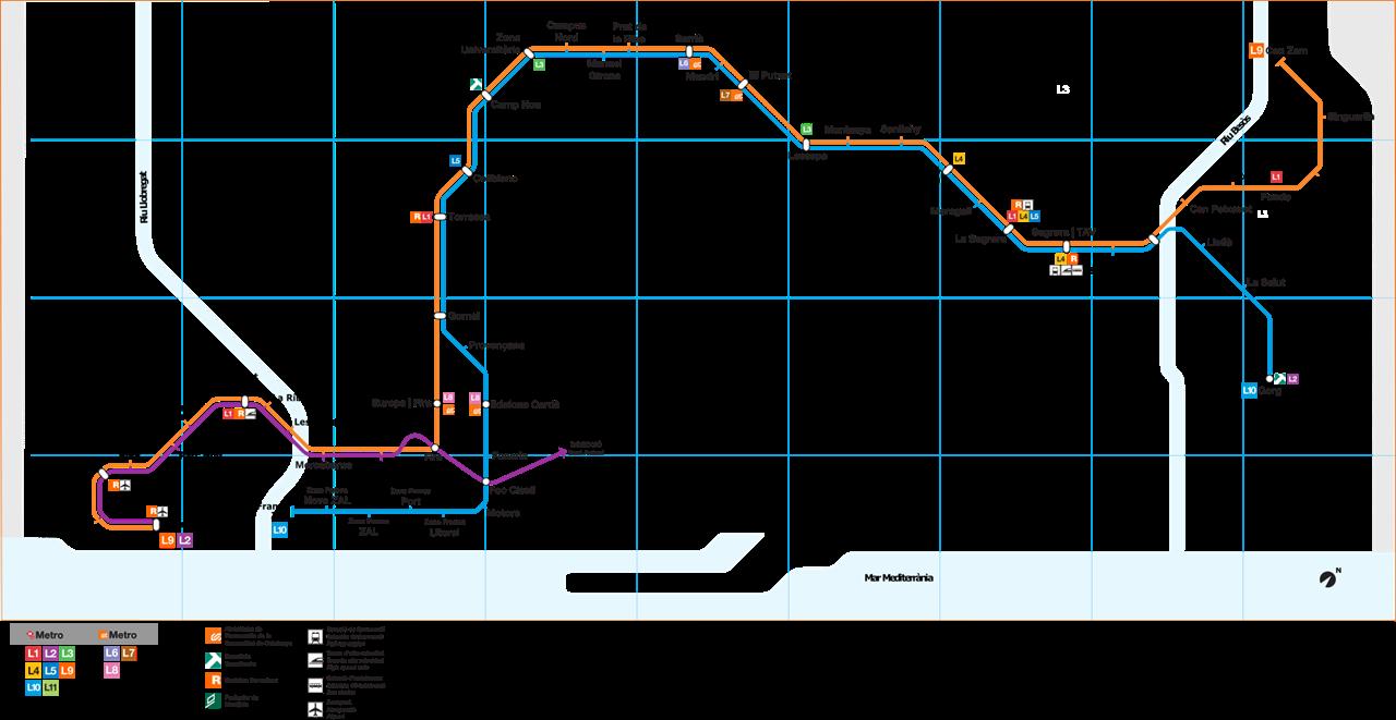 térkép wikipédia IHO   Vasút   Barcelonáé Európa leghosszabb automata metróvonala