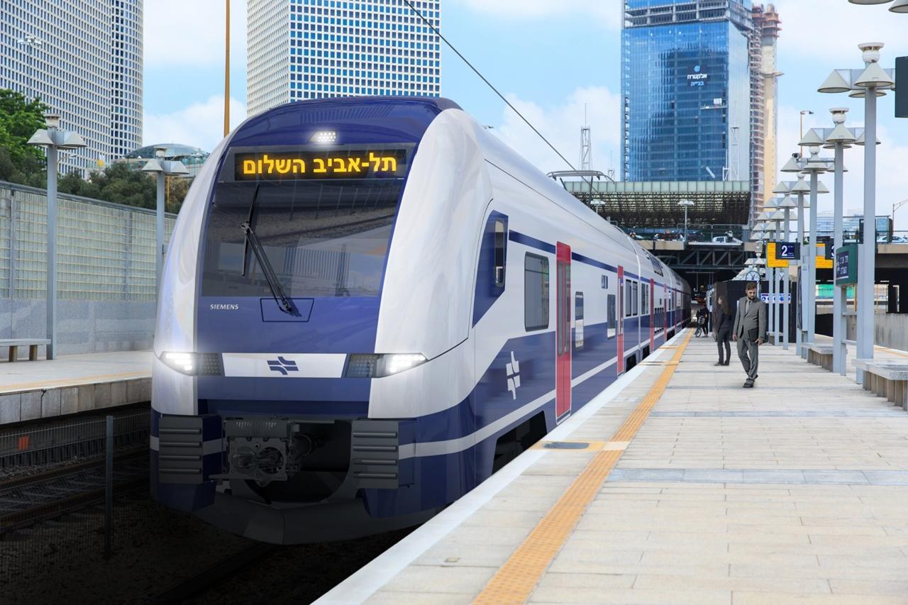 IHO – Vasút – Aláírták: hatvan kétszintes Desiro HC-t vesz Izrael