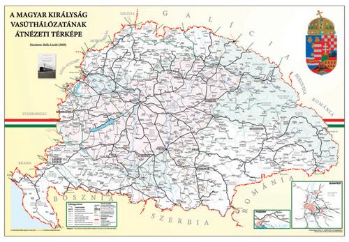 magyarország vasúthálózata térkép IHO magyarország vasúthálózata térkép
