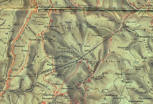 felsőtárkány térkép IHO   Vasút   Nyolcvan évvel később felsőtárkány térkép