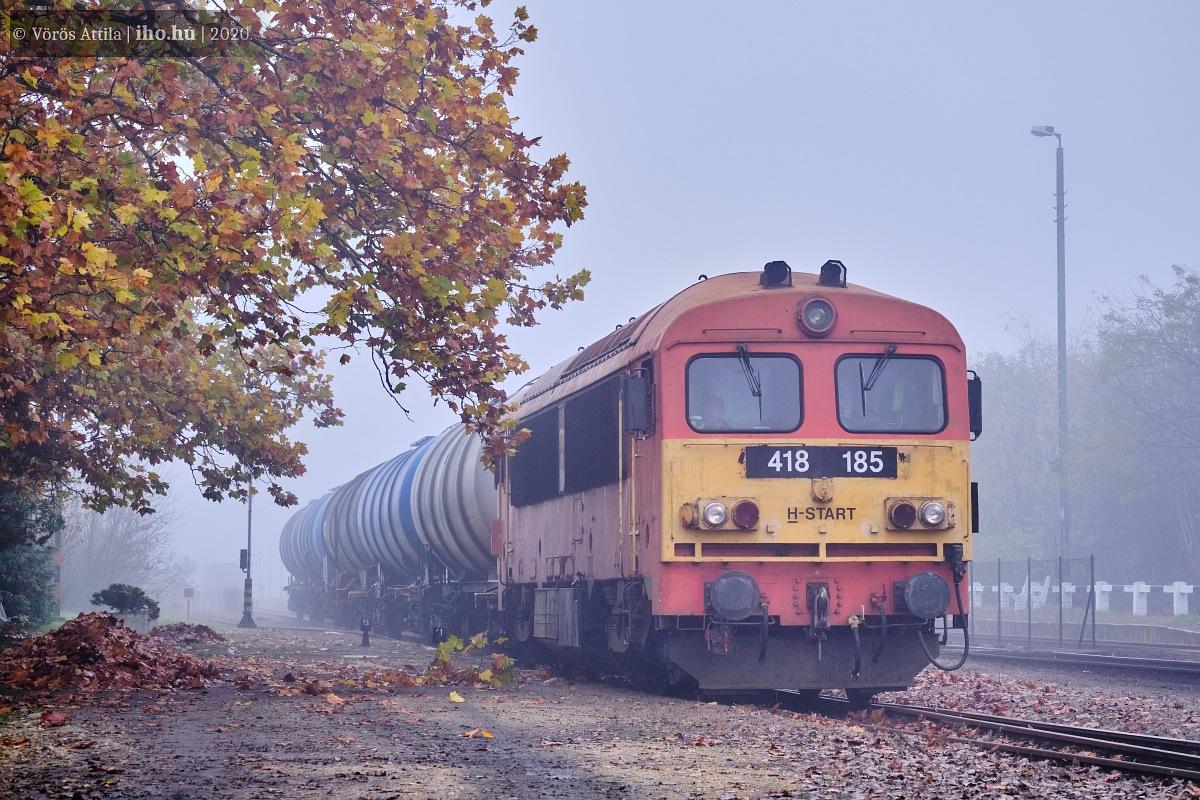 Mátravidéki Erőmű állomáson a csörgős tolatós (képek: Vörös Attila)