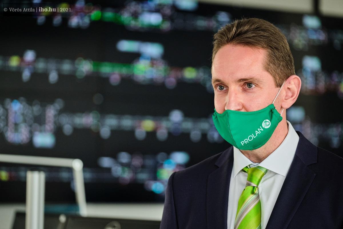 Feldmann Márton, a kivitelező Prolan Zrt. üzletág-igazgatója