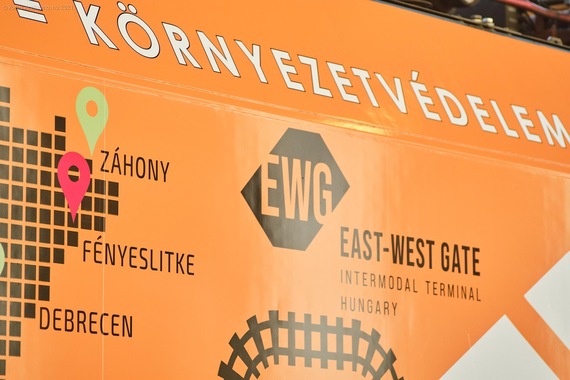 Az új reklámmozdony, a 470 002-es a Nyugatiban (fotók: Vörös Attila)