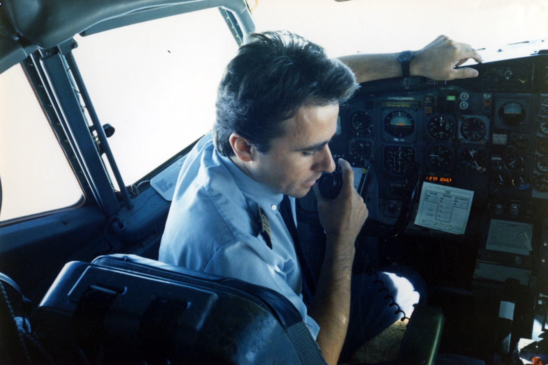 A pilótafülke és Mihály Károly aktívan részt vett az előadásban