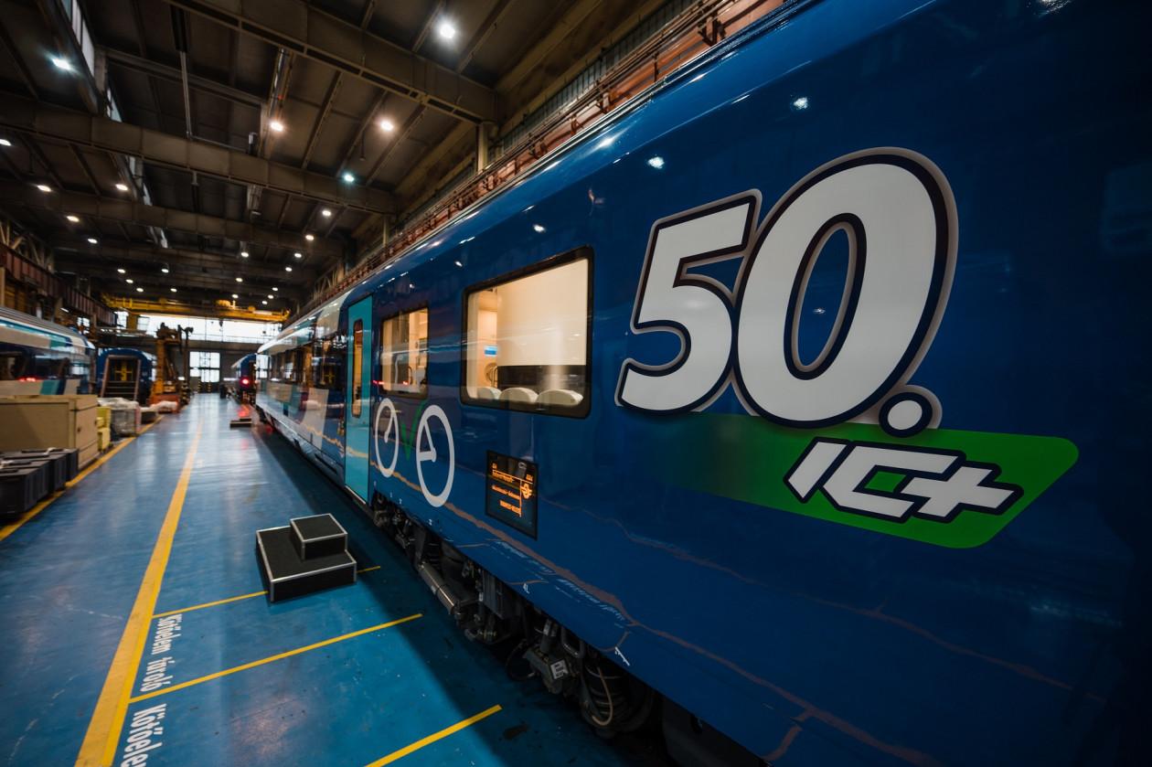 2020-ban ellkészült az ötvenedik IC+-kocsi is