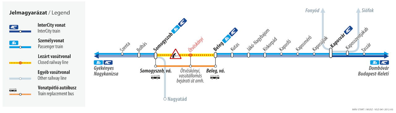 (térképek: MÁV-Start)