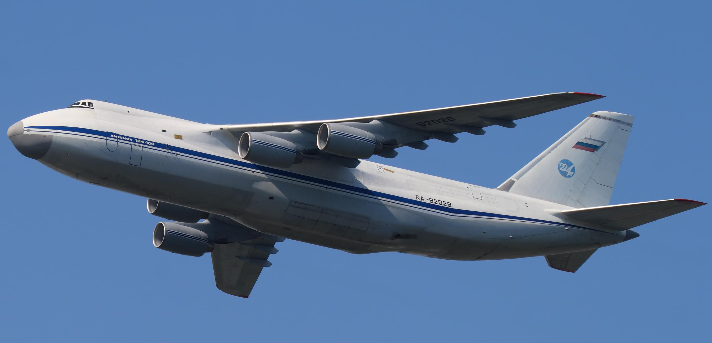 An-124 Ruszlán: sok lett a feladat, kevés repül belőle (fotó: Wikimedia)