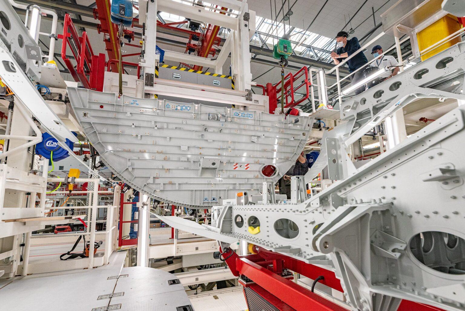 Közben készül az XLR (fotó: Airbus)