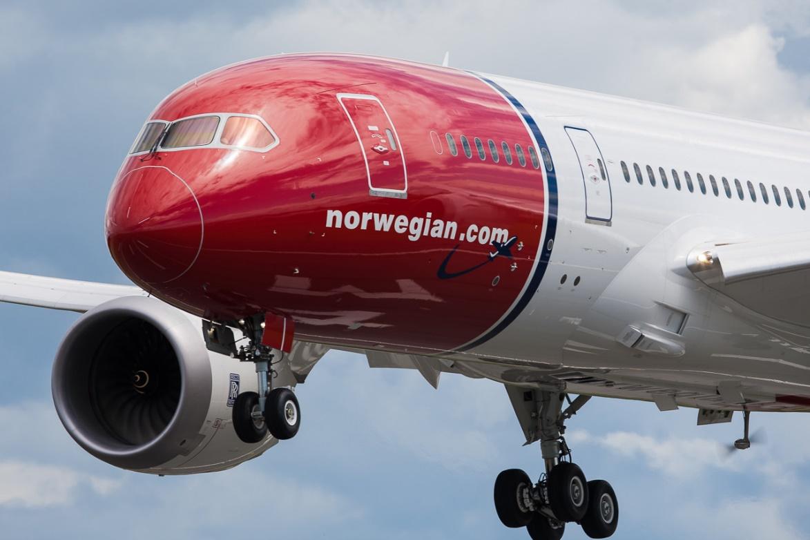 A Norwegian egyik egykori 787-ese