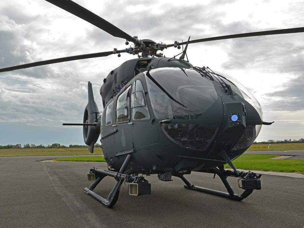 Húsz H145M, kettő kiképzésre a gyártóközpontban maradt (fotó: Kelecsényi István)