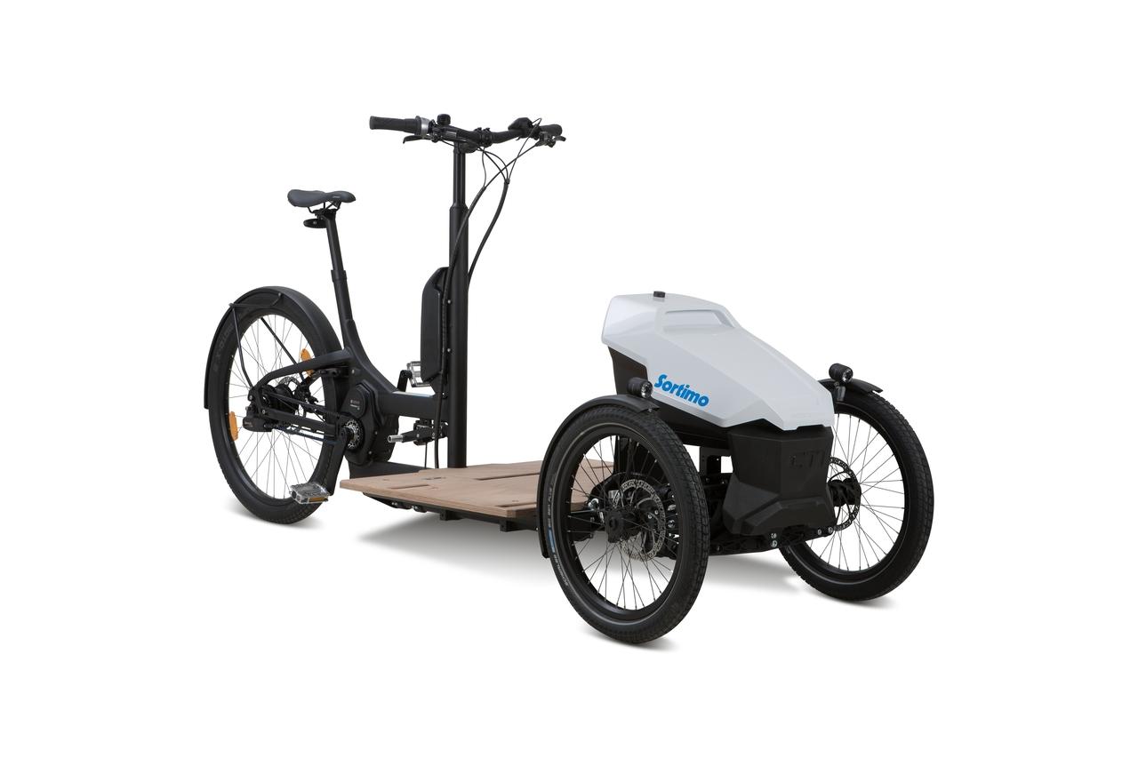 Sortimo tricikli, újragondolva