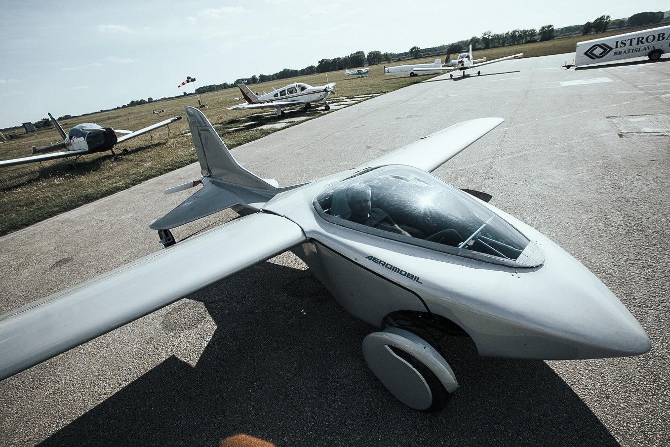 Az előd, az Aeromobil (fotók: KleinVision)