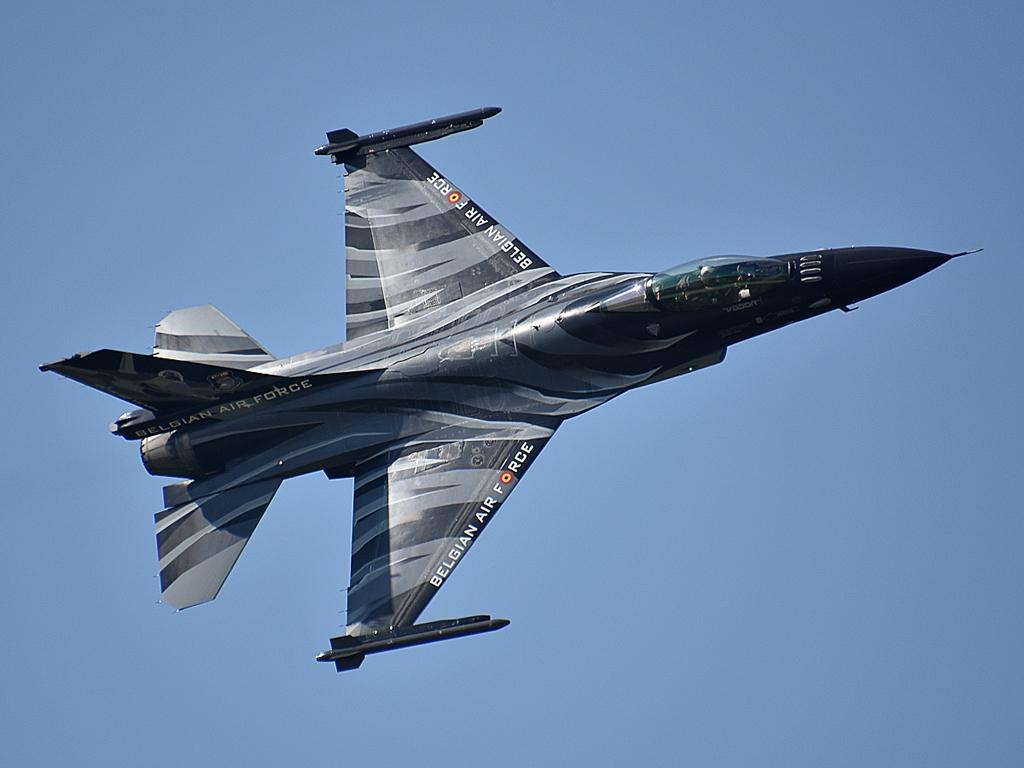 Remekül repült, de csak a második helyre jutott a belga F-16-os