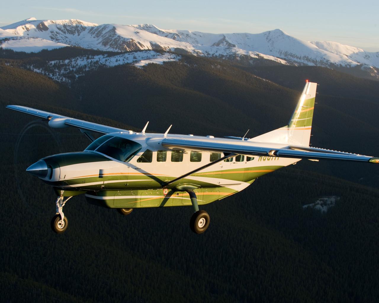 A legnépszerűbb GA-gépek egyike, a Cessna Caravan is PT-6-ossal repül (fotó: Cessna)
