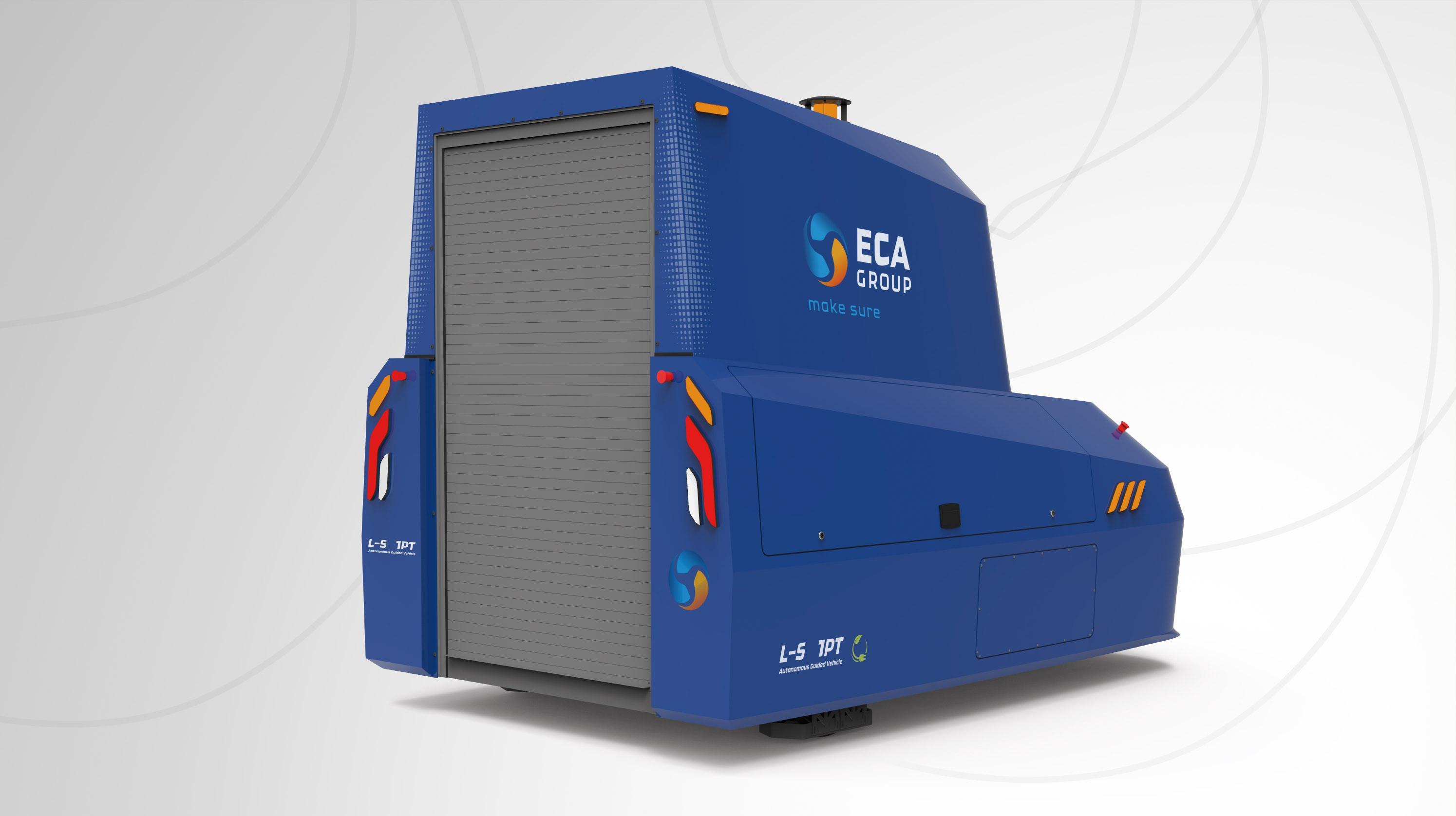 Az AGV L-S 1 PT raklapemelő és szállító autonóm targonca. Vannak benne lehetőségek!