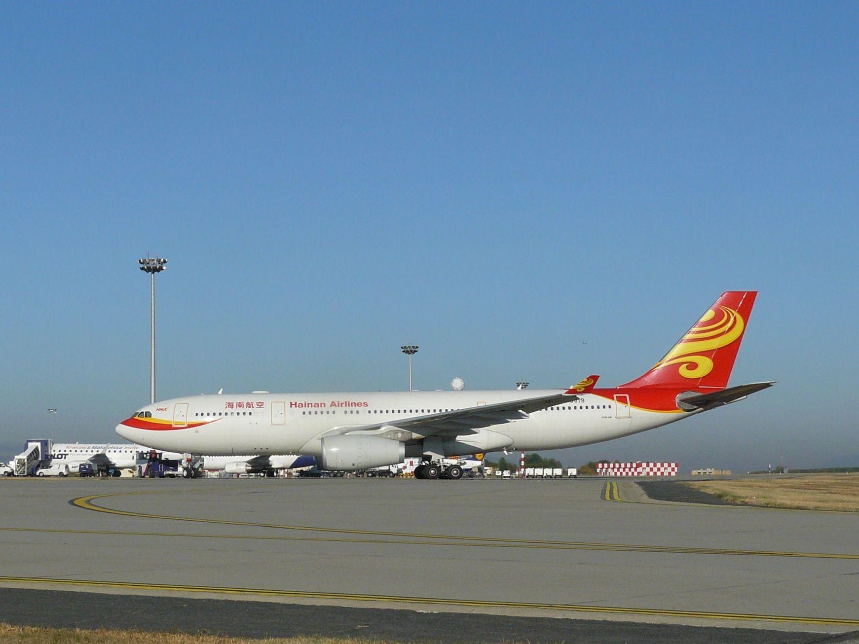 Amikor a Hainan még menetrend szerinti utasjáratokat repültetett Budapestre (fotó: iho.hu)