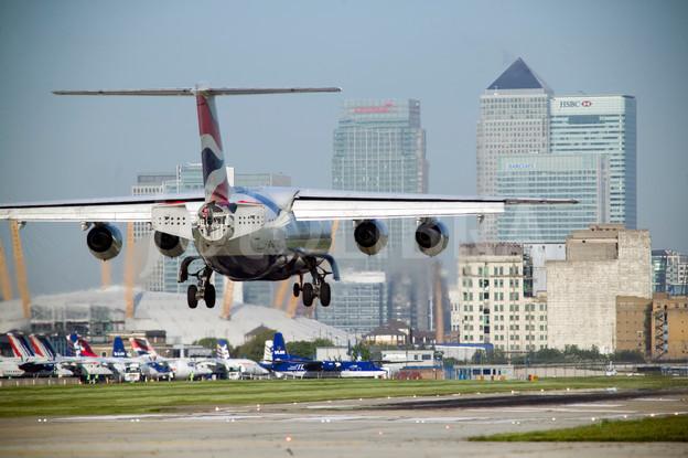 Landolás London City-n