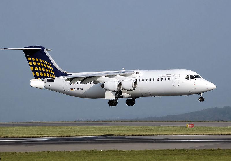 A Lufthansa gépén jól látható a törzsféklap