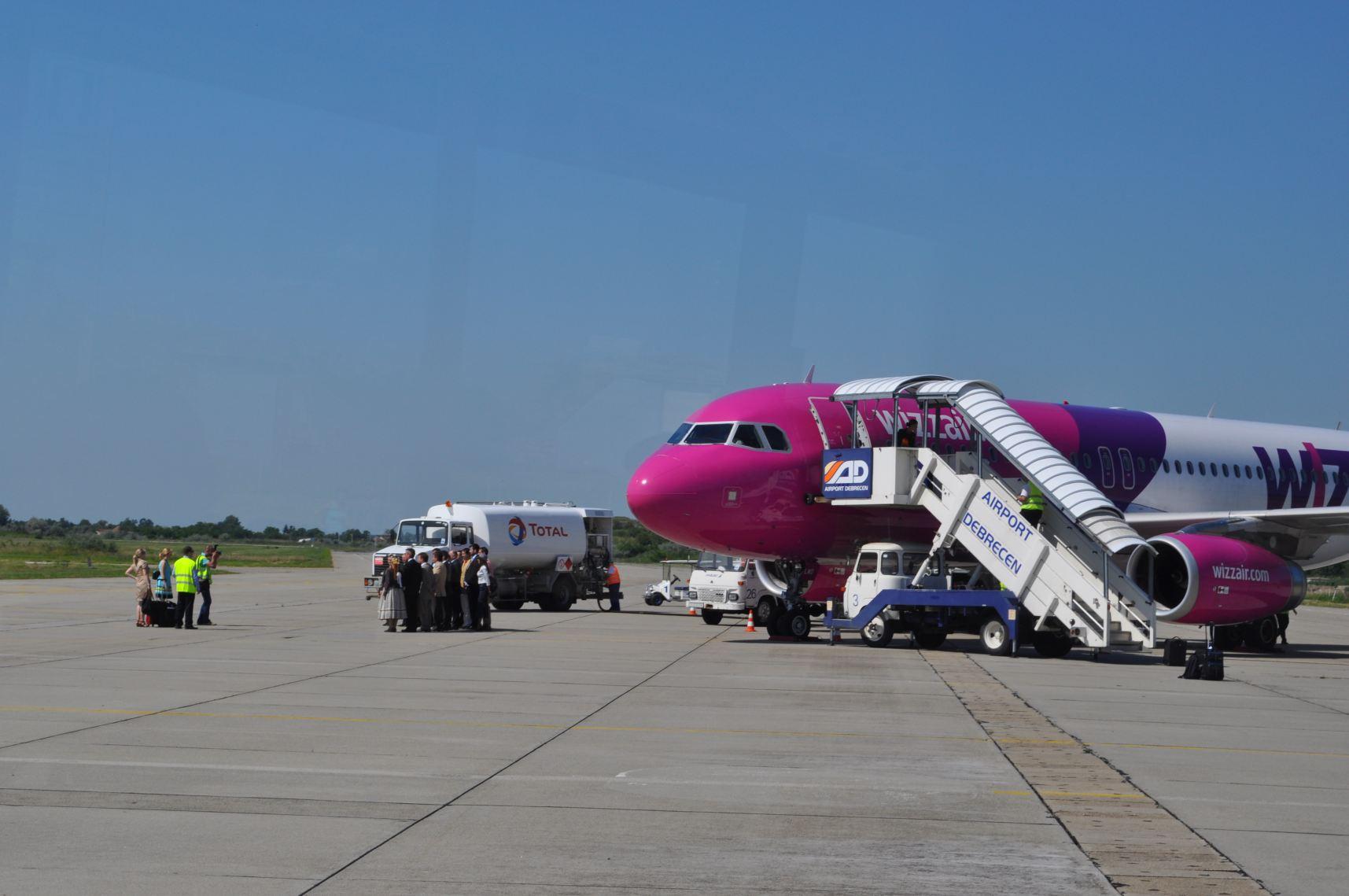 Wizz csökkentés, Budapestről csak 12, Debrecenből csak egy járat