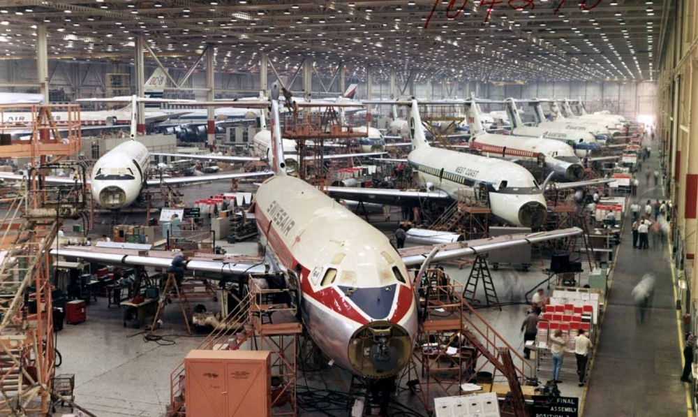 DC-9 sorozatgyártásban: európai légitársaságok is nagy számban használták