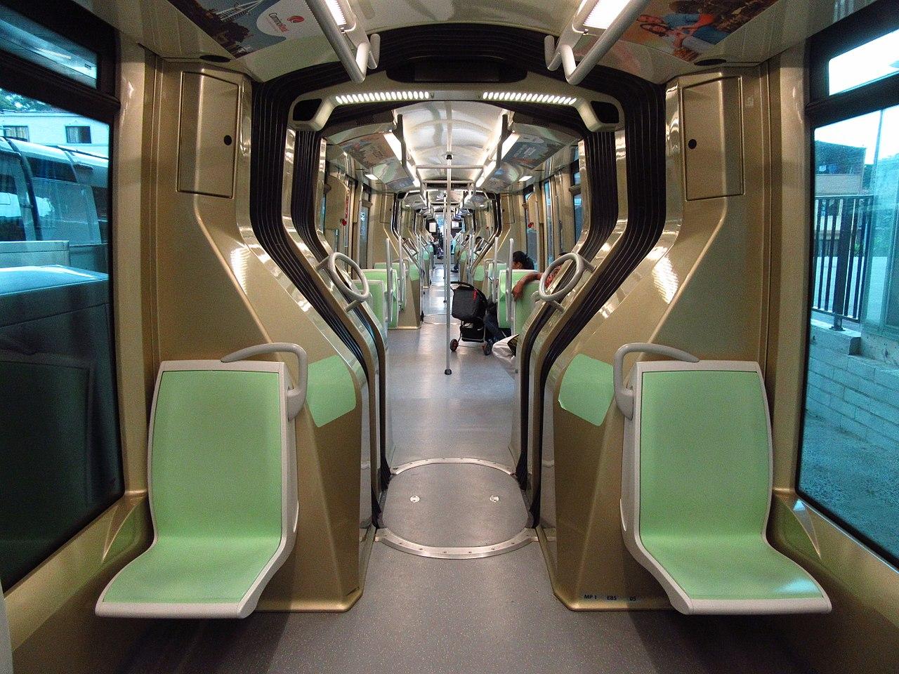 A kolumbiai Medellínben közlekedő Translohr STE5 szerelvények 2015 óta szolgálják az utasokat. Harminc méter hosszú, 2,22 méter széles, 311 személyes