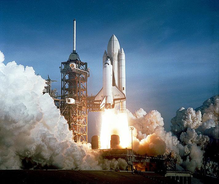 Columbia az első start előtt: 135-ször repültek az űrrepülőgépek (fotók: NASA)
