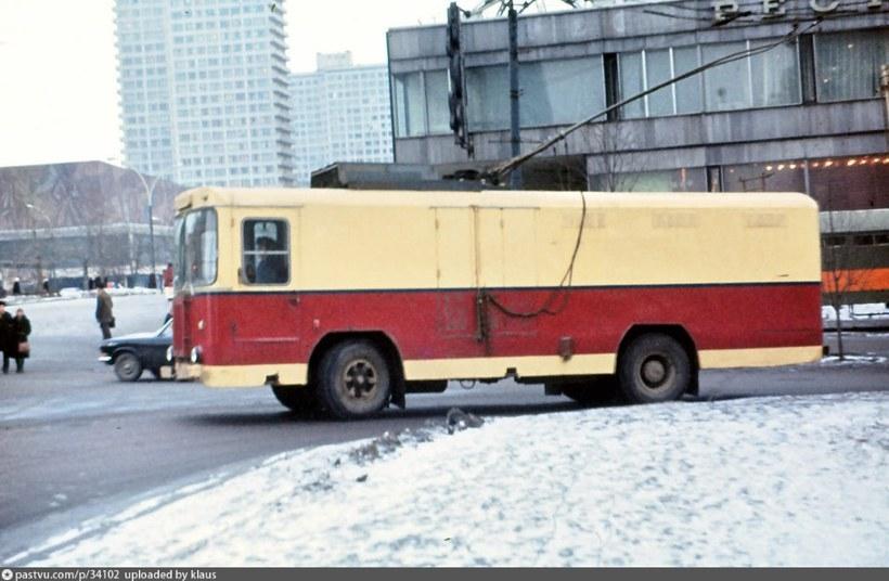 KTG-1 teherszállító troli (Szovjetunió, 1979)