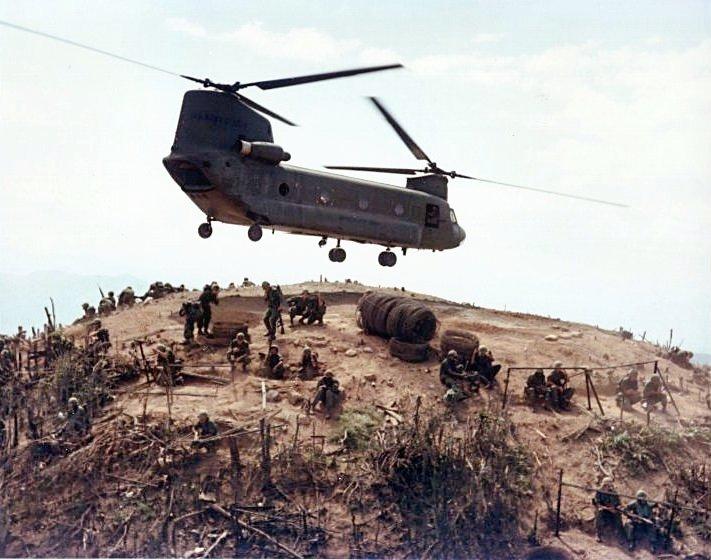 Az első hadszíntér: Vietnam