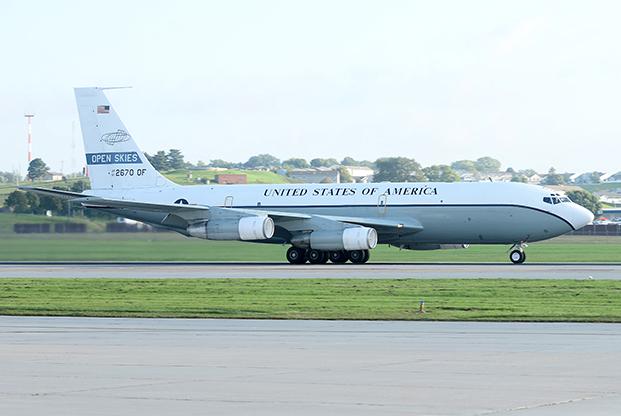 A két OC-135B egyike (fotók: US Air Force)